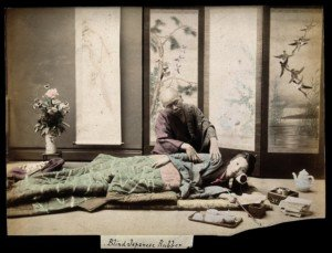 Traditional Japanese massage